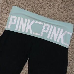 Like new Victoria secret PINK yoga pants